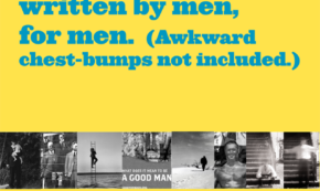 A Book by Men, for Men—Awkward Chest-Bumps Not Included