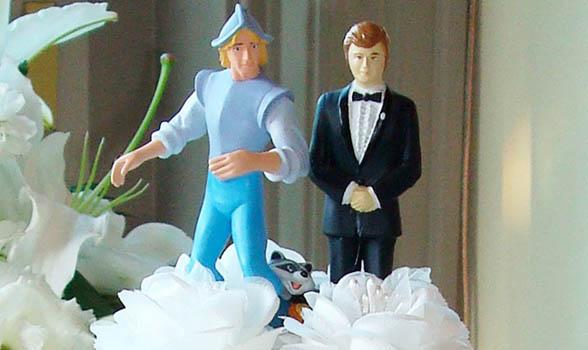 Topper Wedding Cake  Boys