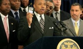 NY State Senator Eric Adams Testifies Comissioner Kelly Wants to 'Instill Fear' in Young Men of Color