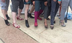 Saving Our Soles-Walk A Mile In Her Shoes