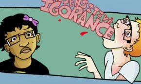 Verbal Diarrhea: A Comic