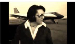 Elvis on the Stairway to Heaven