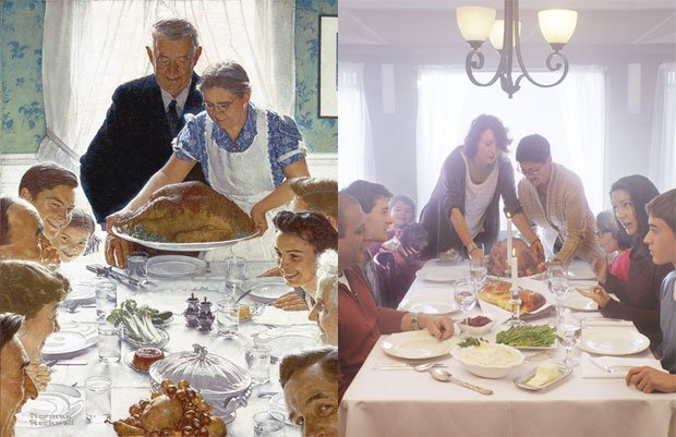 How Norman Rockwell Might Have Depicted LGBT Families -