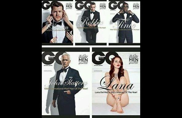 Women as sex object in magazine