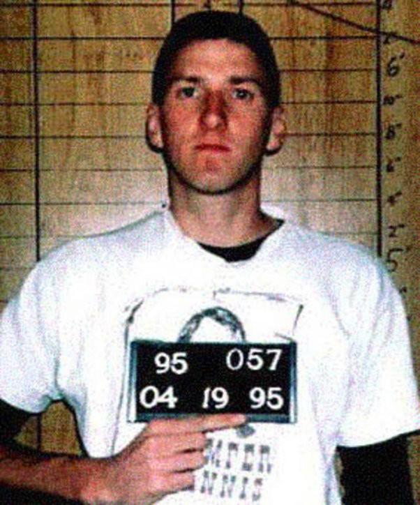 Timothy McVeigh, April 19, 1995
