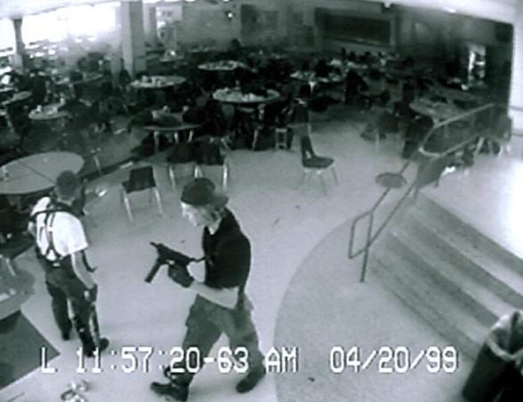 Columbine High School Massacre, Littleton Colorado, April 20, 1999
