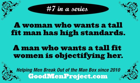 7 Double Standards That Hurt Men (and Women)