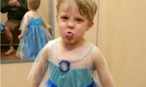 """This Dad Had the Best Response When His Son Said He Wanted To Be Elsa From """"Frozen"""" on Halloween"""