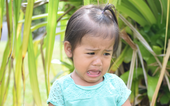 Daughter Crying