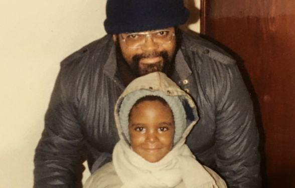 Darren Calhoun and father