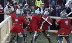 The Medieval Combat World Championship is Apparently a Thing, so Here's Poland Vs Denmark
