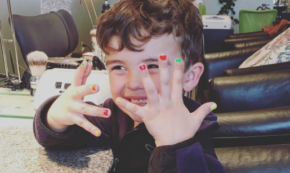 To The Dad At The Salon Who Commented On My Son Getting His Nails Painted
