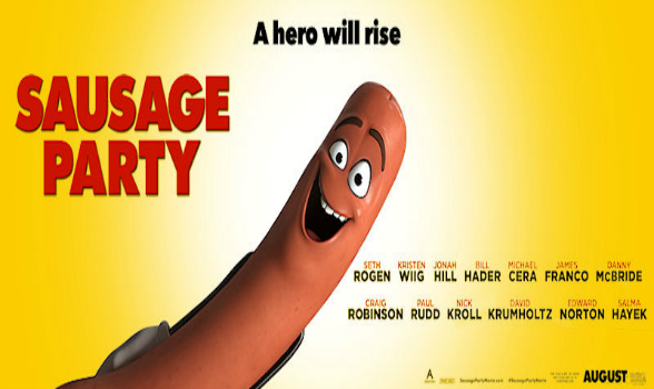 Image result for sausage party 2016 movie poster