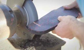 Craftsman Cobbles Together Custom Flip Flops Out of Old Tires and Polypropylene