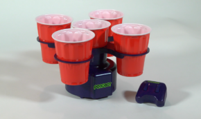 PONGBOT, The New Way to Play 'Beer Pong'!!!