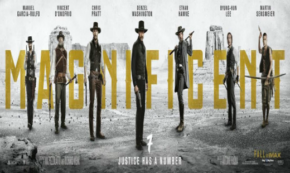 the magnificent seven, western, remake, seven samurai. columbia pictures