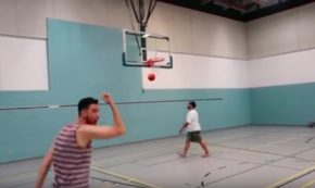 Crazy Basketball Trick Shots