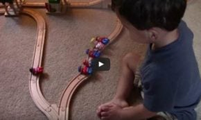 Two Year-Old's Answer to the Classic Ethics 'Trolley Problem' is… Not Correct