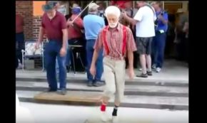 Grandpas Shuffling—Walkers Not Included