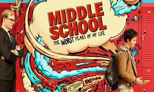 middle school the worst years of my life, comedy, family, adaptation, cbs films, lionsgate