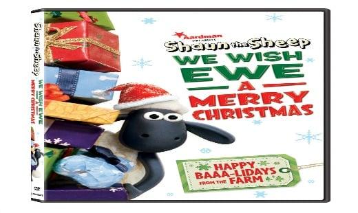 shaun the sheep, we wish ewe a merry christmas, review, animated, ardman animations