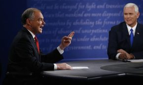Why an Aggressive Tim Kaine Won the Vice Presidential Debate