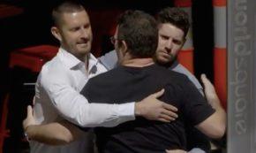Man Hugs