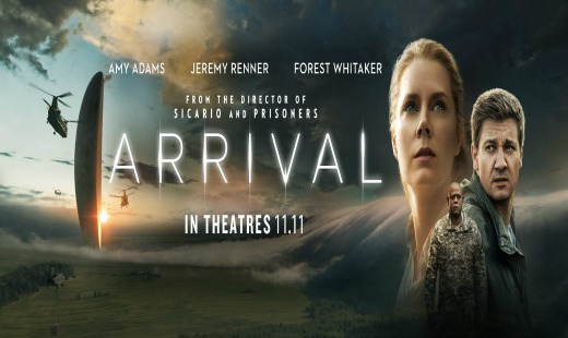 arrival, science fiction, drama, review, paramount pictures