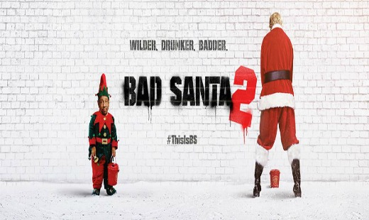 bad santa 2, comedy, dark, christmas, sequel, broad green pictures