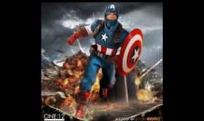 The ONE:12 Collective Captain America!