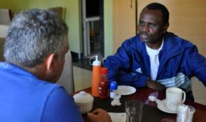 The World Vasectomy Day Team Meets Fred of Narok
