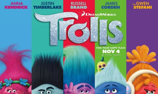 trolls, 3d, computer animated, musical, dreamworks animation