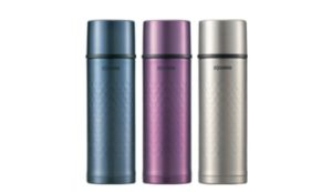 The Zojirushi Stainless Steel Mug. Keeps Hot Drinks Hot, Cold Drinks Cold. 4-Stars.