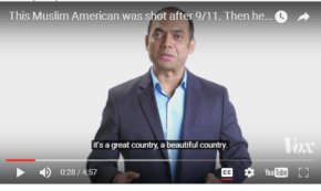 A Muslim American Shot in the Face, Refuses to Hate His Attacker