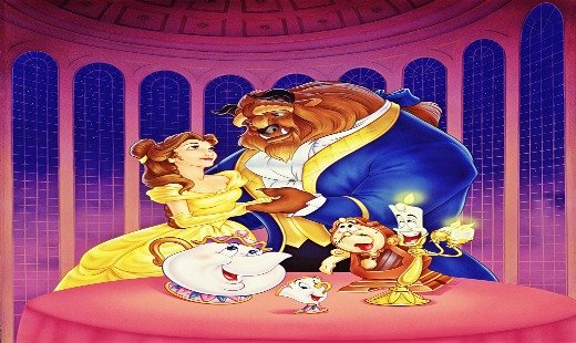 beauty and the beast, reunion, sac anime, panel, winter 2017, animated, classic, walt disney pictures