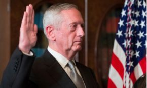 Mattis Stands Alone with Climate Change