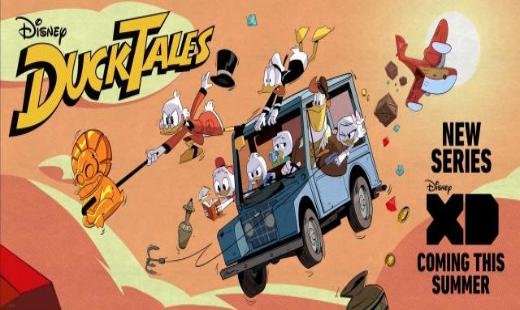ducktales, tv show, cartoon, reboot, sneak peek, disney xd