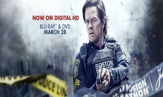 patriot's day, true story, drama, thriller, blu ray, review, mark wahlberg, lionsgate