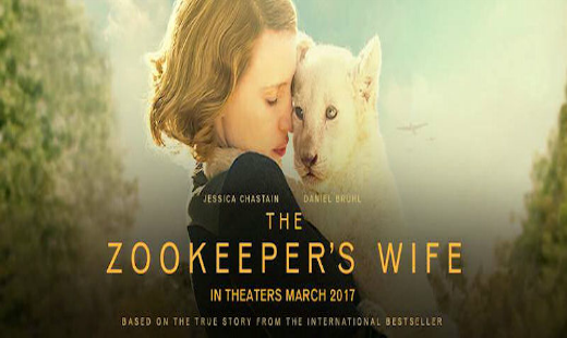the zookeepers wife, war, drama, true story, adaptation, jessica chastain, daniel bruhl, review, focus features