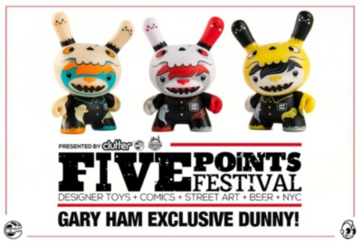 FIVE Points Festival: VIP Tickets & Exclusive Dunny Release!