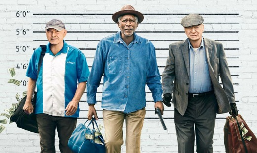 going in style, comedy, heist, remake, zach braff, review, new line cinema, warner bros pictures