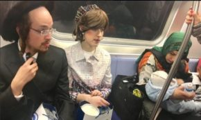 A Taoist, an Hasidic Couple, and a Muslim Mother Meet on the F Train in Brooklyn on Easter Sunday