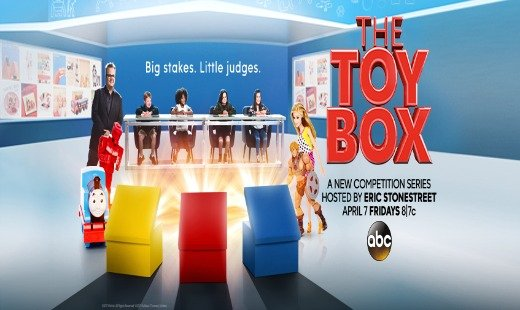 the toy box, tv show, competition, eric stonstreet, review, abc