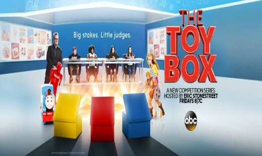 the toy box, tv show, competition, eric stonestreet, review, abc