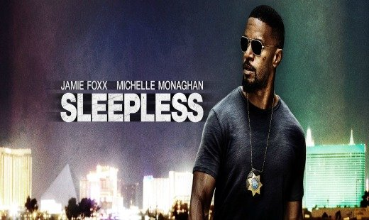 sleepless, drama, crime, jamie foxx, review, open road films