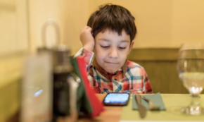 The Dinner (Smart Phone) Etiquette Guide Brought to You by Dad