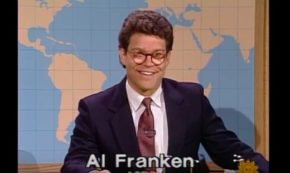 Senator (and still humorist) Al Franken