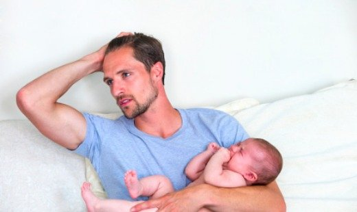 Postpartum Depression Affects New Fathers Too