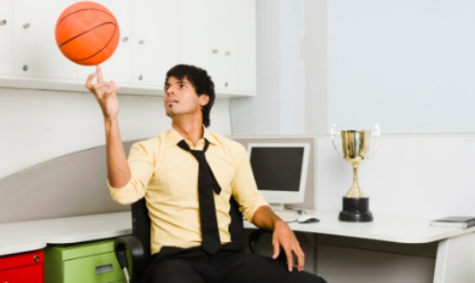 My Son's Career in Sports … Management!