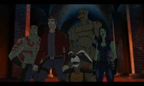 The cast of 'Marvel's Guardians of the Galaxy' Landed at D23